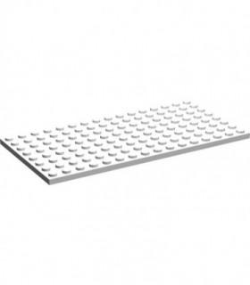 White Plate 8 x 16