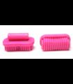 Dark Pink Friends Accessories Brush Oval, Large