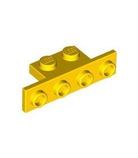 Yellow Bracket 1 x 2 - 1 x 4
