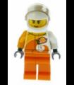 Desert Rally Racer Driver with Orange 'VITA RUSH' Logo