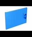 Trans-Dark Blue Container, Cupboard 2 x 3 x 2 Door