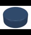 Dark Blue Tile, Round 1 x 1