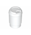 White Minifig, Utensil Cup, Take Out Cup