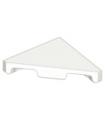 White Tile, Modified 2 x 2 Triangular