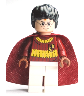 Harry Potter, Dark Red Quidditch Uniform, Light Nougat Head