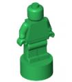 Green Minifig, Utensil Statuette / Trophy