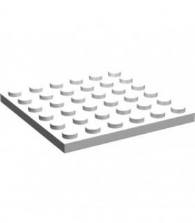White Plate 6 x 6