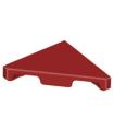 Dark Red Tile, Modified 2 x 2 Triangular