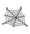 Dark Bluish Gray Spider Web with Clips