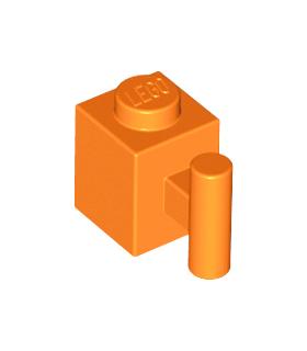 Orange Brick, Modified 1 x 1 with Handle