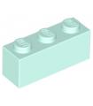 Light Aqua Brick 1 x 3