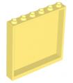 Bright Light Yellow Panel 1 x 6 x 5