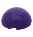 Dark Purple Cylinder Hemisphere 4 x 4