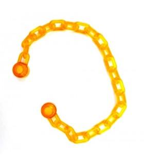 Trans-Orange Chain 21 Links (16-17L)
