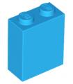 Dark Azure Brick 1 x 2 x 2 with Inside Stud Holder