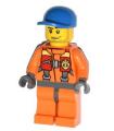 Coast Guard City - Rescuer, Orange Jacket