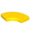 Yellow Tile, Round Corner 2 x 2 Macaroni