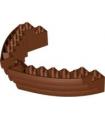 Reddish Brown Boat, Hull Brick 16 x 10 x 3