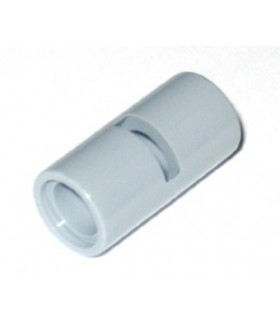 Light Bluish Gray Technic, Pin Connector Round 2L with Slot (Pin Joiner Round)