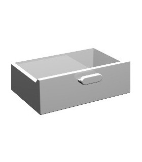 White Container, Cupboard 2 x 3 x X Drawer