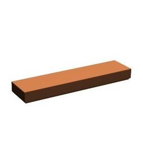 Reddish Brown Tile 1 x 4