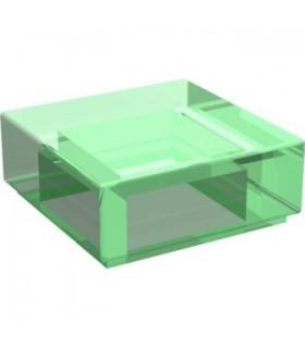 Trans-Green Tile 1 x 1