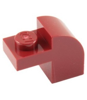 6 NEW LEGO Dark Red Brick Arch 1 x 3 x 2 Curved Top