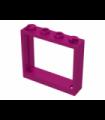 Magenta Window 1 x 4 x 3 - No Shutter Tabs