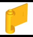 Bright Light Orange Door 1 x 3 x 2 Right - Open Between Top and Bottom Hinge (New Type)